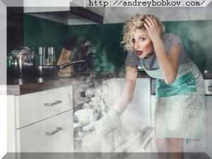 запах гари - как избавиться от запаха на кухне