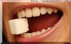 сладости разрушают зубы